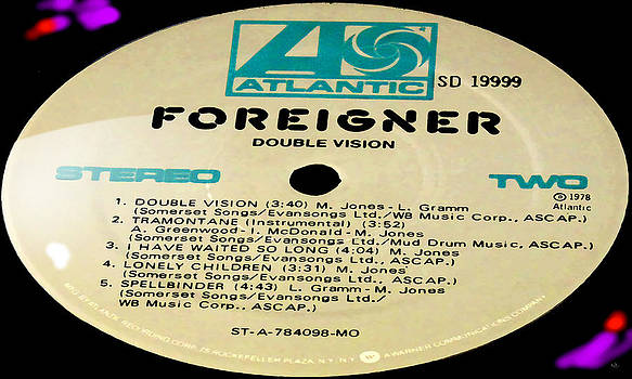 Marcello Cicchini - Foreigner Double Vision Side 2