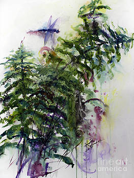 Ginette Callaway - Forest Fern and Dragonfly