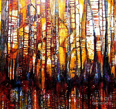 SOLD Forest Fire by Caia Matheson
