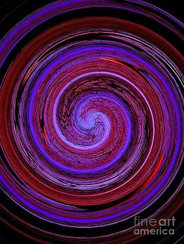 Forest in Spirale by Jessie Art