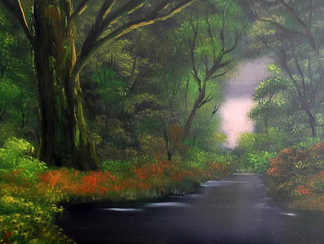 Forest of Tranquility by Cynthia Adams