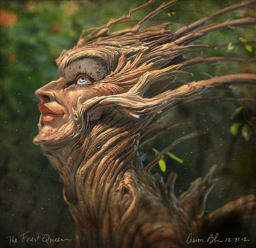 Forest Queen by Aaron Blaise