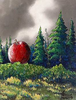 Forest with Apple by Kenny Henson