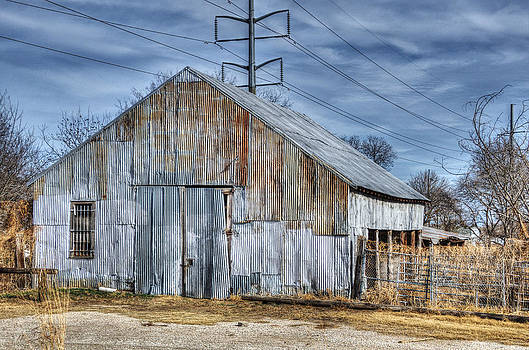 Forgotten Barn II by Lisa Moore