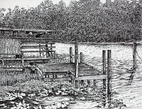 Forgotten Dock by Janet Felts
