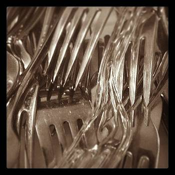 #forks #silverware #utensil #random by Larissa Holderness