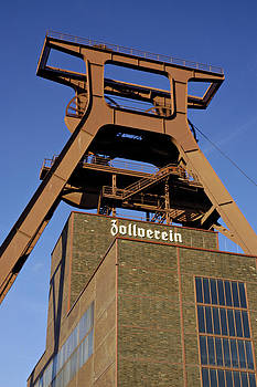 Former Zollverein Coal Mine Germany by David Davies
