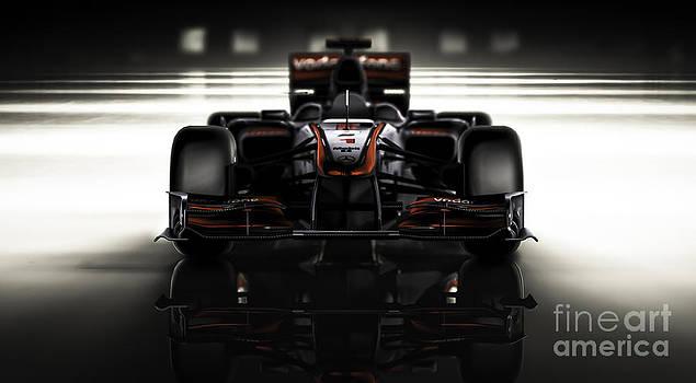 Formula 1 Face by Marshall Bishop