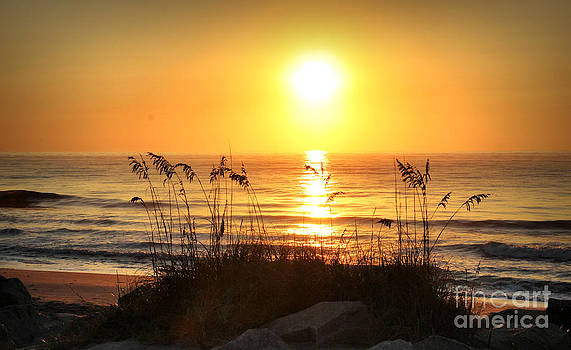 Fort Fisher September Sunrise by Phil Mancuso