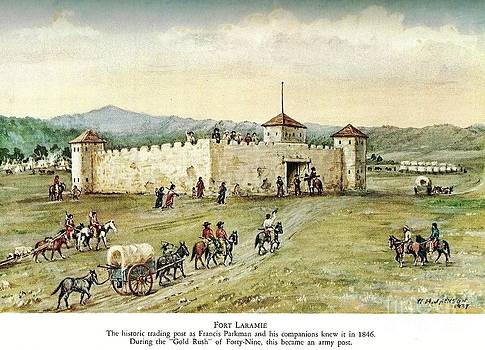 Roberto Prusso - Fort Laramie - 1846