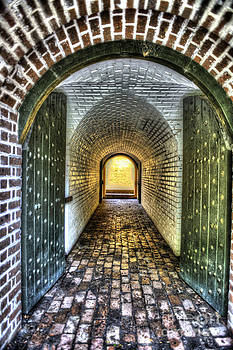 Dale Powell - Fort Moultrie Door