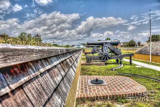 Dale Powell - Fort Moultrie View looking back at Church
