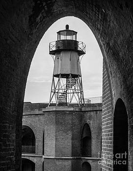 Fort Point Lighthouse SF by Amy Fearn