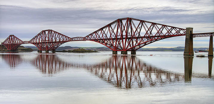 Ross G Strachan - Forth Bridge Reflections