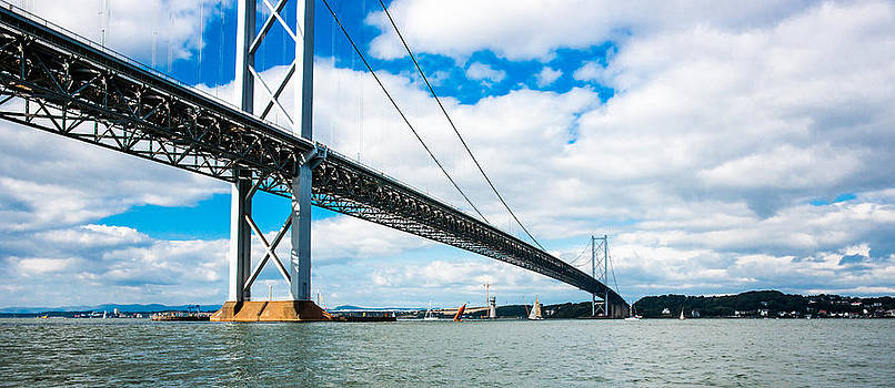Forth Road Bridge by Max Blinkhorn
