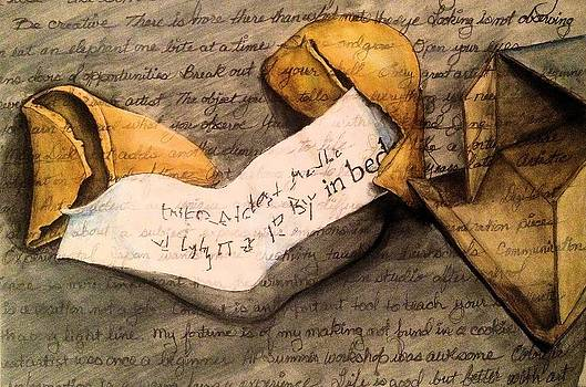 Fortune Cookie by Barbara  Rhodes