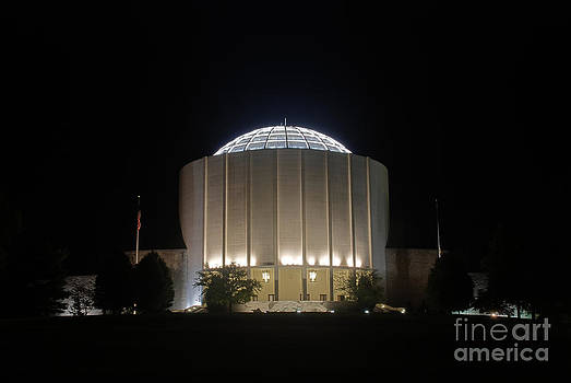 Mark Dodd - Founders Hall at Night