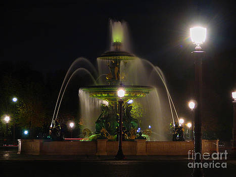 Fountain by Christopher English