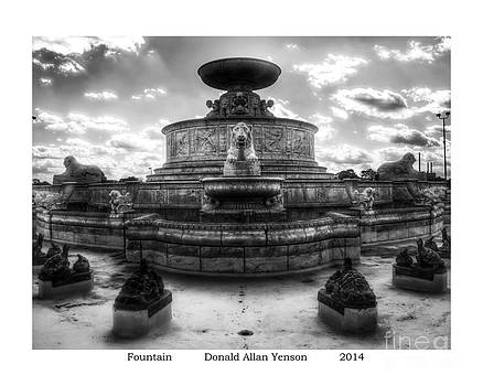 Fountain by Donald Yenson