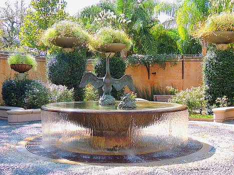 Fountain by Judy  Waller