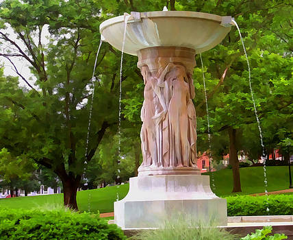 Fountain by Julie Grace