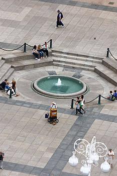 Fountain Mandusevac  by Borislav Marinic
