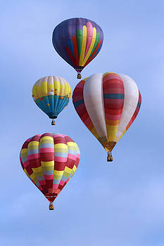 Wes and Dotty Weber - Four Colorful Balloons