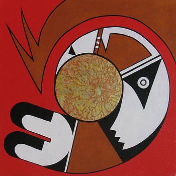 Four Corners - Navajo by Elaine Booth-Kallweit