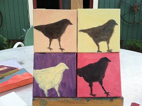 Four Crows by Molly Fisk
