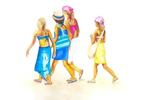 Patricia Beebe - Four Friends on an Adventure