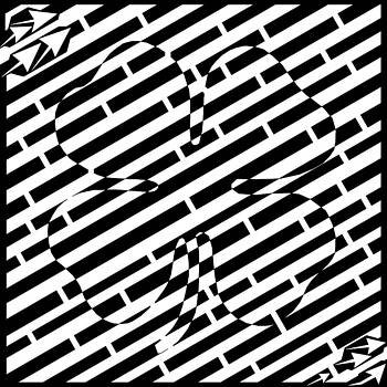 Four Leaf Clover Maze  by Yonatan Frimer Maze Artist