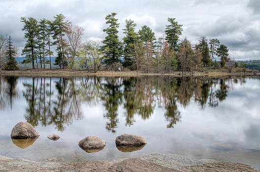 Four Rocks and the Point. Pinhey's Point Ontario by Rob Huntley