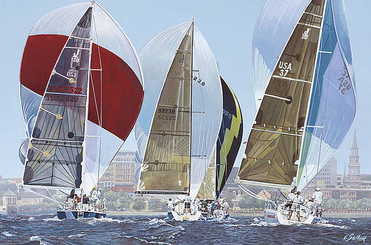 Four Sails by Eric Soller