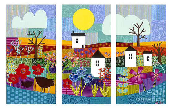 Four seasons by Carla Bank