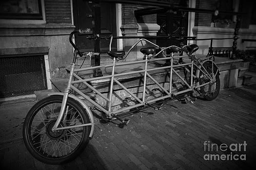 Four Seats Bicycle  by Miryam  UrZa
