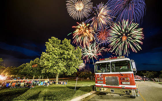 Fourth of July Celebrations by Benjamin King