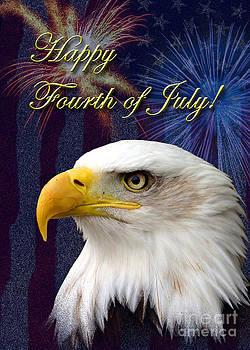 Jeanette K - Fourth of July Eagle