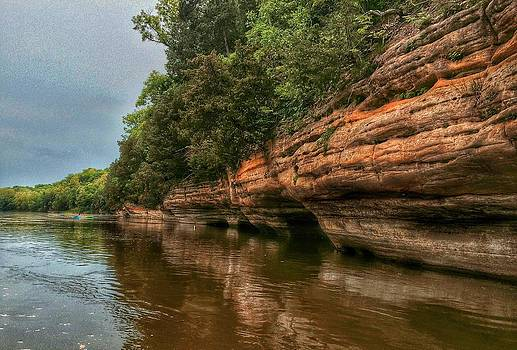 Nick Heap - Fox River Sandstone Cliffs