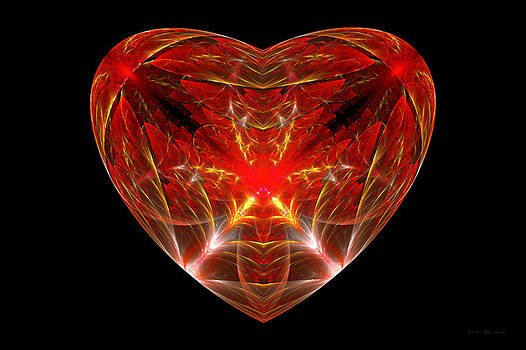 Mike Savad - Fractal - Heart - Open heart