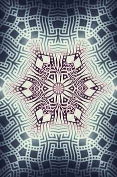 Hakon Soreide - Fractal Snowflake Pattern 1