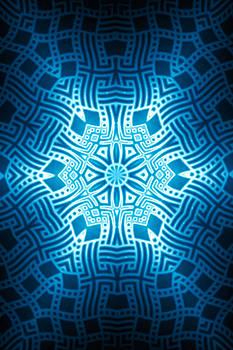 Hakon Soreide - Fractal Snowflake Pattern 2