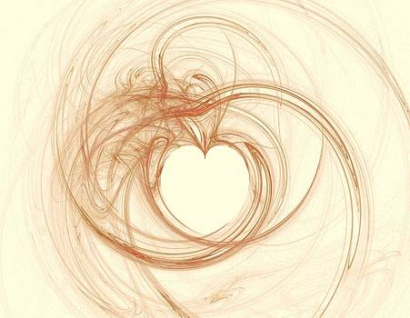 Fractals For Lane  Love by Mary Ann Southern