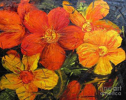 Fractured Flowers by Barbara Haviland
