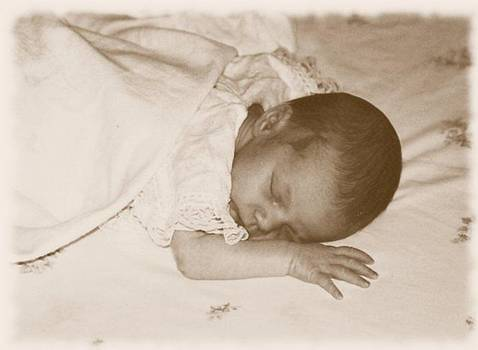 Fragile baby girl by Lee Farley