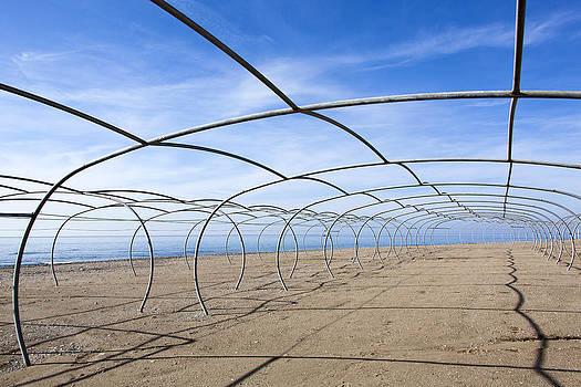 Ramunas Bruzas - Framed Beach