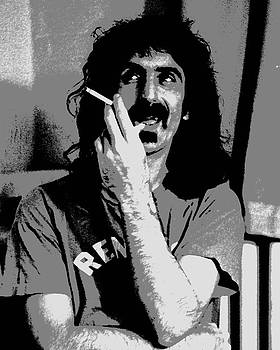 Joann Vitali - Frank Zappa - Chalk and Charcoal