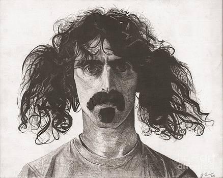 Frank Zappa by Jeff Ridlen