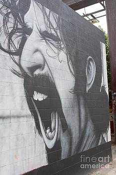 Frank Zappa Mural by Lne Kirkes