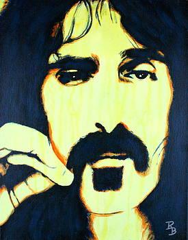 Frank Zappa Pop Art by Bob Baker