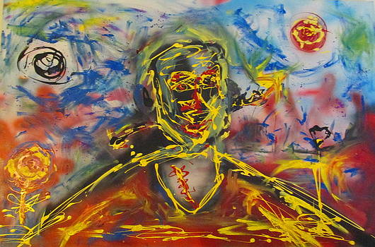 Frankenstein's Monster Before rediscovering fire again by Darryl  Kravitz